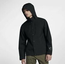 NIKE SB HOODED COACHES SHIELD JACKET BLACK GORE-TEX 862805 010 sz MEDIUM M