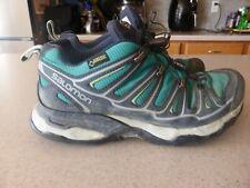 SALOMON GTX GORE TEX Hiking Trail Women's XA COMP 5 Sz 7 Red