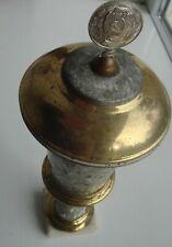 Vintage Old Soviet Sport Award Cup Hammer Sickle