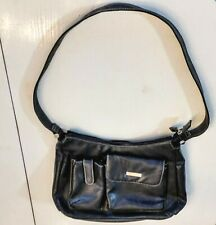 Rosetti Smartlyte Purse Shoulder Bag Zip Top Black Faux Leather needs battery
