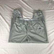 Adidas Climalite Grey Baseball Softball Pants Extra Large XL 36x28