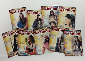 XENA BEAUTY & BRAWN FOOTSTEPS OF A WARRIOR FW1-FW9 Set of 9  / 2002 Rittenhouse