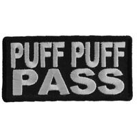 PUFF PUFF PASS -  IRON or SEW ON PATCH