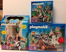 Playmobil  5836  5831  4775  Green Knights  - NEW