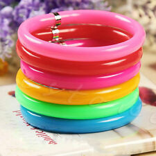 10 x Mixed Bulk Colorful Combo Novelty Ball Point Pens Wristband Bangle Bracelet