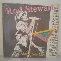 """Rod Stewart–Absolutely Live (2 x Vinyl 12"""" LP Album)"""