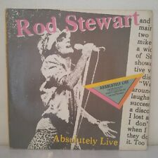 "Rod Stewart ‎– Absolutely Live (2 x Vinyl 12"" LP Album)"