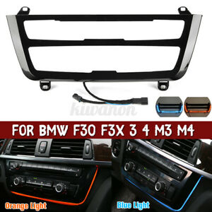 For BMW 3 4 M3 M4 Series F30 F31 F32 Ambient Led Light Dual Color AC/radio  ▽ a
