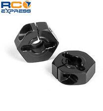 Xray Aluminum Wheel Hub - Offset -0.75mm Black XRA305351