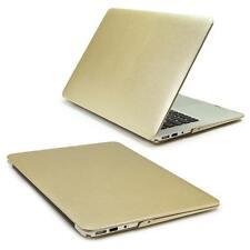 13 Zoll Macbook Pro Schutzhülle Ultra Slim Hard Cover Schale Etui in Samt Gold