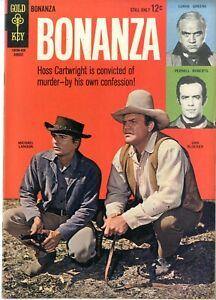Bonanza  # 9    VFNM   August 1962    Western    Gold Key Publisher