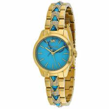 Michael Kors Women's MK6673 Runway Mercer Gold Stainless Steel Watch