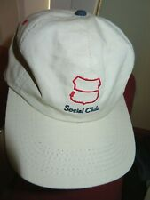 New Sugarloaf Social Club SSC golf breathable baseball cap Linen look snap back