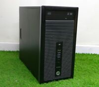 Cheap HP Prodesk 400 G1 MT PC i3 4130 3.4GHz 8GB RAM 500GB HDD Windows 10 WIFI