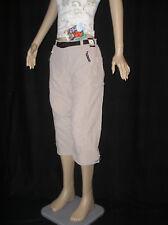 Marken Damen Freizeit Outdoor Caprihose Hose Trekkinghose beige Gr. 36 S NEU