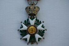 superbe médaille légion d'honneur Présidence hybride second empire 1852