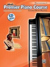 Premier Piano Course: Premier Piano Course Masterworks, Bk 4 : Correlated