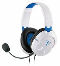 Turtle Beach Recon 50P White Gaming Headset for PS4 Xbox One and PC