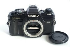 Minolta X-700 body with cap. For parts.
