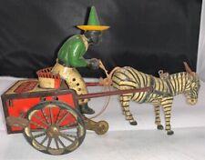 Lehmann Dare Devil Zebra and driver All Original