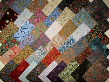44 Rare WILLIAM MORRIS Quilt Block Fabric Squares ..44 different 1990's fabrics!
