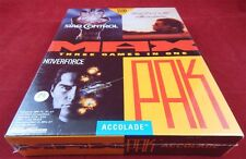 PC DOS: Max Pak Accolade  - Star Control, Hoverforce, Test Drive 3