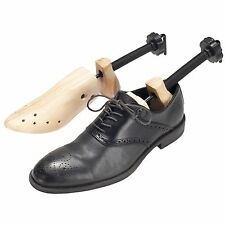 2 Way Shoe Stretchers Large Mens Set of 2 Wooden Shapers
