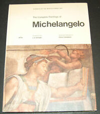 Michelangelo, complete paintings of, ABRAMS 1966