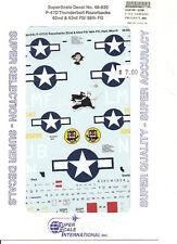 Superscale Decal 48-830 P-47D Thunderbolt Razorbacks