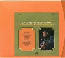 The Composer of Desafinado, Plays [Remaster] by Antônio Carlos Jobim Audio CD