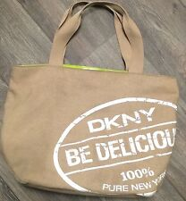 DKNY Be Delicious Women Perfume Weekender Tote Bag Purse Handbag