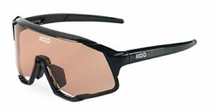 KOO Demos Cycling Sunglasses Black / Rose Lenses