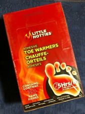 30 Pair Little Hotties Adhesive Toe Foot Warmer 5 Hour Pure Heat Air Activated