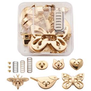 1 Box Light Gold Zinc Alloy Handbags Turn Lock Bag Twist Lock Hardware Accessory