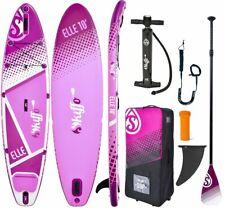 Skiffo SUP elle 10' Board INFLATABLE Stand Up Paddle Surfboard pagaia 2019 ISUP