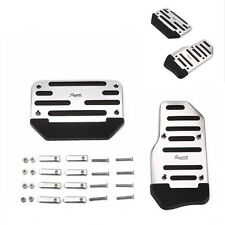 Automatic Car Aluminium Non-Slip Accelerator Brake Treadle Foot Pedal Cover Pad