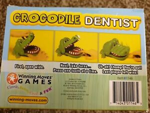 New Crocodile Dentist Game - Kids Games Funny Gifts Fun Family Games Action