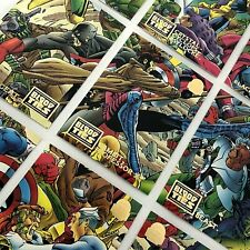 Marvel Cards Blood Ties  1993 Fleer Full Set Of 9 #28-36 Mint Group