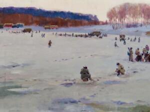 Konstantin Karpovich Shelkovenko (1920-2004) Russian ORIGINAL Fine Oil Painting