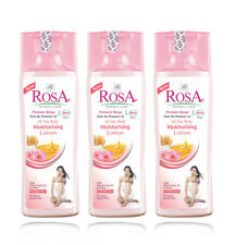 Rosa Herbal All Day Body Moisturising Lotion Of 100 Ml / 3.3Oz - pack of 3