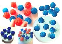 Blueberry Raspberry Blackberry SILICONE MOULD: Soap Candle melts Embeds