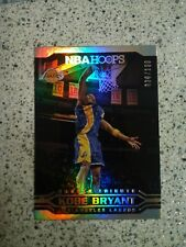 2017-18 NBA Hoops Kobe Bryant Tribute #'d To 199 Silver Mint🔥