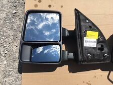 2008-2016 FORD SUPERDUTY MANUAL DRIVER SIDE TOW MIRROR - OEM - DC34-17683-A