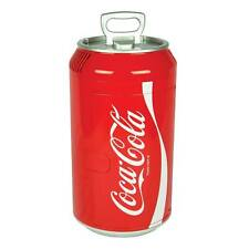 Coca-Cola Coke Mini Fridge Refrigerator Shaped 8 Can Soda Cooler 12V Portable