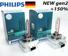 Philips Xenon D1S Xtreme Vision gen2 +150% more light 85415XV2C1 PK32d-2 2 Bulbs