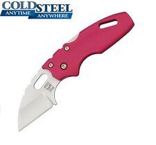 Cold Steel -  MINI TUFF LITE Folding Knife Plain Edge Pink 20MTP New
