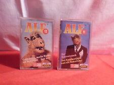 2 x Alf MC / Kassette / Folge 11 und Folge 12 / 1988 / Karusell / Dolby System