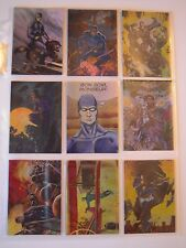 THE PHANTOM GALLERY  9 CARDS LEGENDS     OF 9 1996 TBE