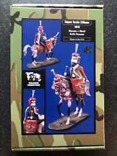 120mm Super Scale Chasseur a Cheval Kettle Drummer Resin Napoleonic Horse 1612