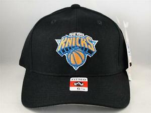 New York Knicks NBA Vintage American Needle Fitted Cap Hat Size 6 7/8 Black